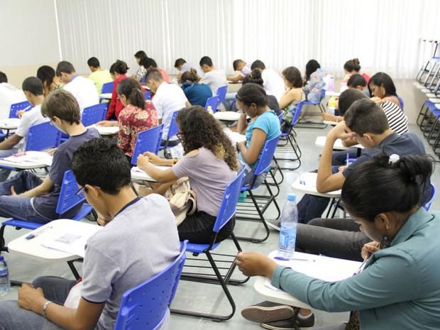 Segundo IFPE, dia de provas transcorreu com tranquilidade (Foto: Divulgação/Gil Aciolly/IFPE)