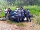 Acidente entre dois veículos deixa mortos na BR-354, em Perdões, MG