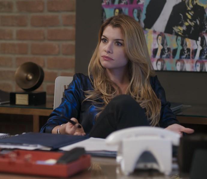 Diana manda a real para Gui Santiago sobre novo disco: 'É fraco' (Foto: TV Globo)