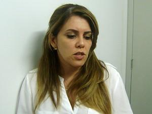Delegada da mulher Herta de Fança disse que o atleta preferiu não falar durante oitiva (Foto: Silas Batista/Globoesporte.com)
