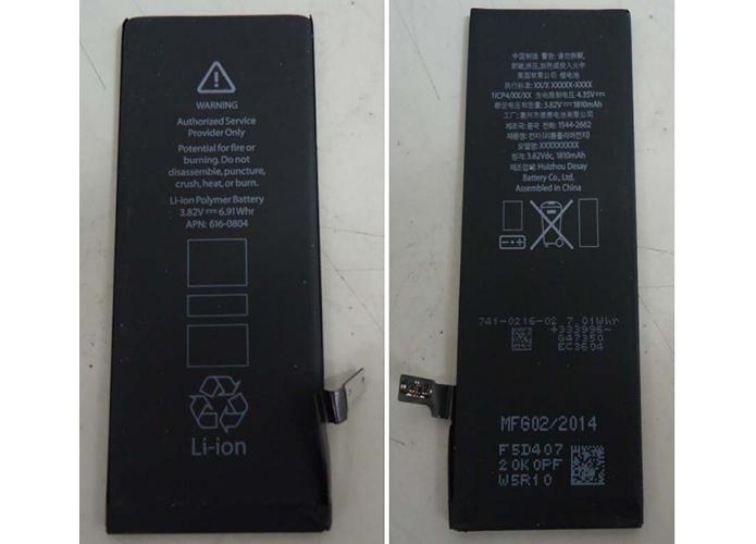 Baterias dos iPhones 6 e 6 Plus já foram homologadas pela Anatel (Foto: Reprodução/Anatel) (Foto: Baterias dos iPhones 6 e 6 Plus já foram homologadas pela Anatel (Foto: Reprodução/Anatel))