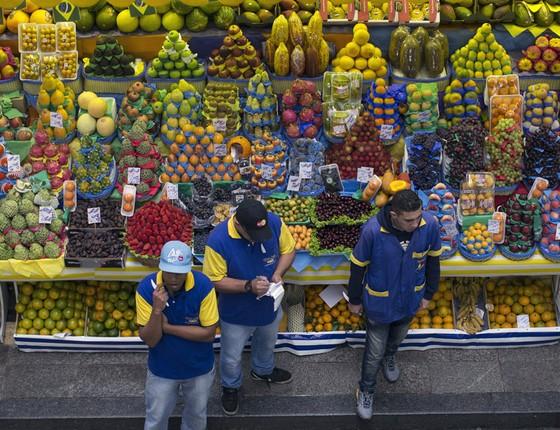 Alimentação, alimentos, comidas, feira, mercado (Foto: Getty Images)