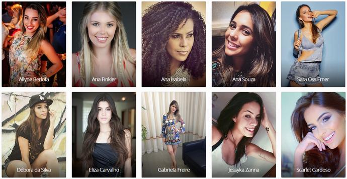 Ajude a escolher a 'Garota Totalmente Demais' (Foto: Divulgação)
