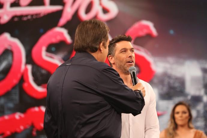 Jogador disse que agora é chamado de 'Marcelinho do Dança' (Foto: Carol Caminha/Gshow)