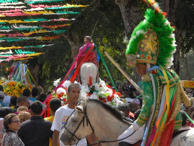 Divulgada programação da Festa de São Tiago, que completa 238 anos no AP (Foto: Gabriel Penha/G1-AP)