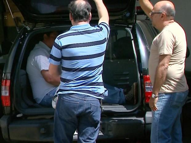 Cinco vereadores foram presos pela Operação Cartas em Branco (Foto: Reprodução/EPTV)