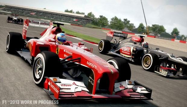 Cena de 'F1 2013' (Foto: Divulgação/Codemasters)