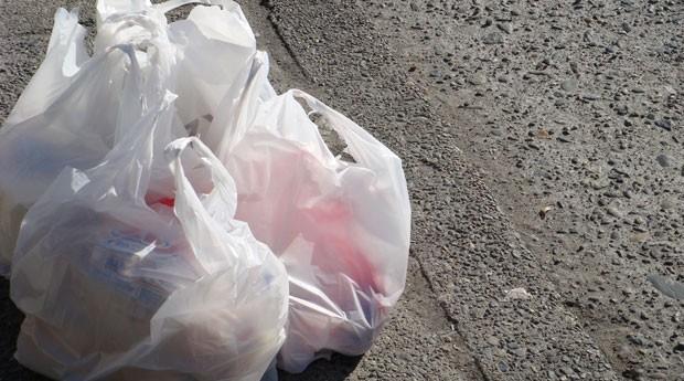 Sacolas plásticas: lei pode reverter cobrança (Foto: Creative Commons/Flickr/velkr0)
