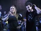 Preta Gil canta com Thiago Martins no Rio