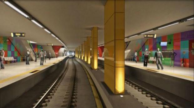 Linha 4 Amarela, do metrô do Rio de Janeiro (Foto: Reprodução/Governo do Estado do Rio de Janeiro)