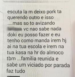 Suspeito alega que ele e adolescente tinham um caso, e ainda admite ser usuário de drogas, para ameaçar a menina (Foto: Divulgação/Polícia Civil)