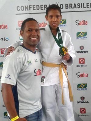 Ítalo Santos Silva é campeão brasileiro de judô  (Foto: Reprodução/Facebook)