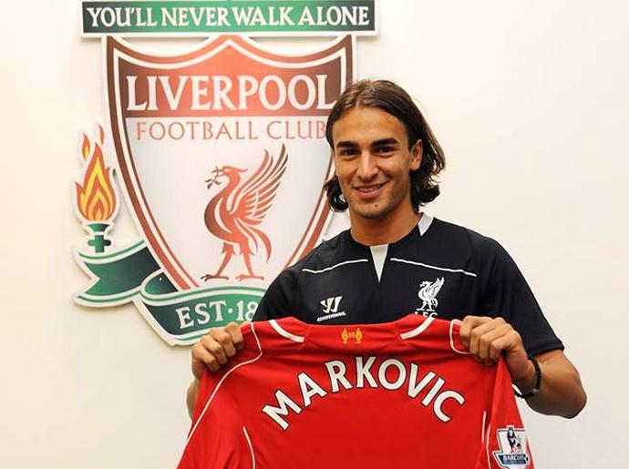 markovic Liverpool (Foto: Reprodução / Facebook Oficial do Livepool)