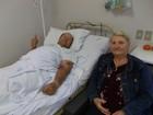 Morre em Santa Rosa, RS, homem que teve serra fincada na barriga