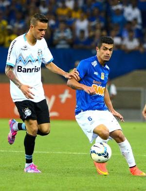 Egidio e Edinho, Cruzeiro e Grêmio (Foto: Getty Images)