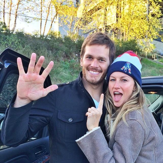 Gisele Bündchen e Tom Brady (Foto: Instagram/Reprodução)