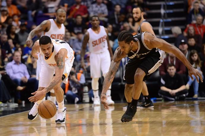 San Antonio derrota o Phoenix Suns pela NBA (Foto: Reuters)