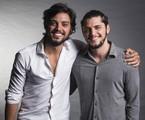 Rodrigo Simas e Bruno Gissoni | Cesar Alves/ TV Globo