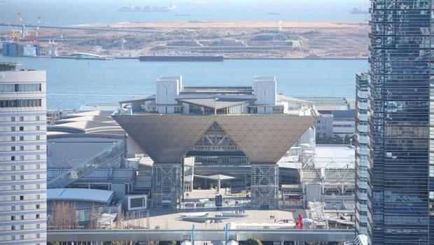 Centro de transmissão e imprensa Tóquio 2020 (Foto: Divulgação)