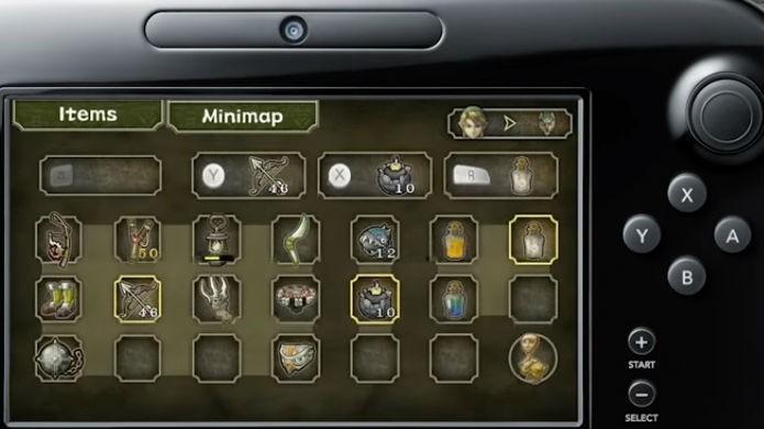 Legend of Zelda Twilight Princess HD é beneficiado pelo bom uso do Gamepad (Foto: Reprodução/YouTube)