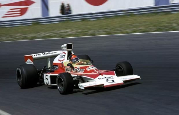 Emerson Fittipaldi foi o primeiro campeão da McLaren, em 1974 (Foto: Divulgação)