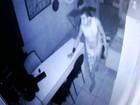 Homem é preso após tentar furtar televisão em buffet de Santos, SP
