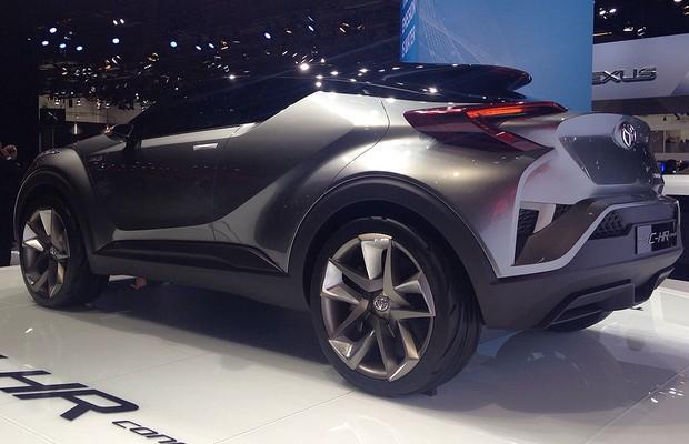 Conceito Toyota C-HR no Salão de Frankfurt 2015 (Foto: Autoesporte)
