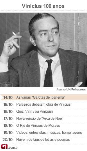 Calendário Vinicius de Moraes - dia 14 (Foto: Arte/G1)