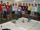 Alunos da Ufes participam de competição de robótica em MG