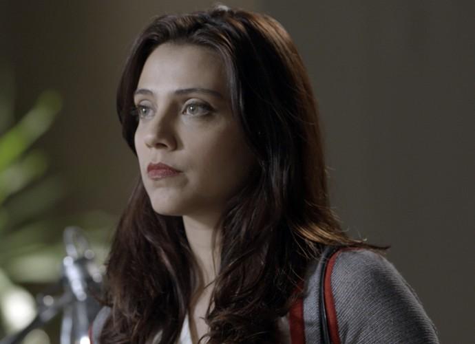 Anita conta Lívia que Melissa está grávida (Foto: TV Globo)