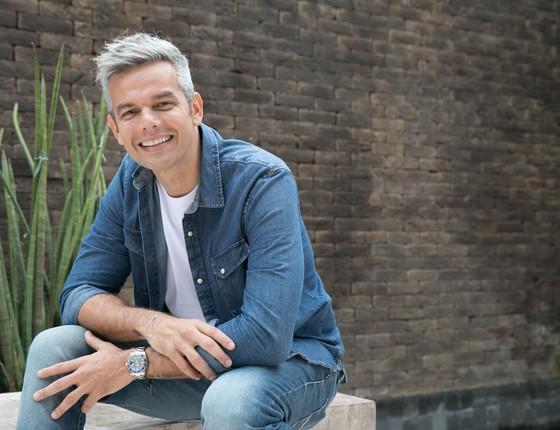 Otaviano Costa, apresentador do programa No Ar, da nova Rádio Globo (Foto: Miguel Sá)