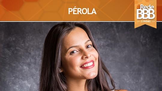 Emilly conquista o Prêmio Pérola  #RedeBBB