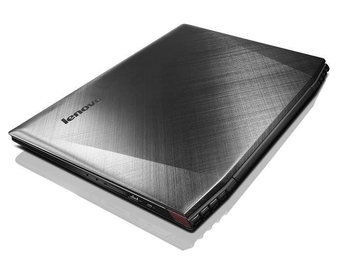 Lenovo Y50 tem acabamento imitando aço escovado (Foto: Divulgação/Lenovo)