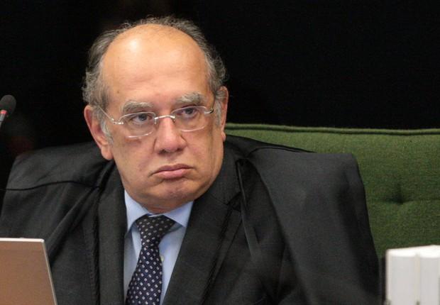 Ministro Gilmar Mendes durante sessão da 2ª turma do STF (Foto: Carlos Moura/SCO/STF)
