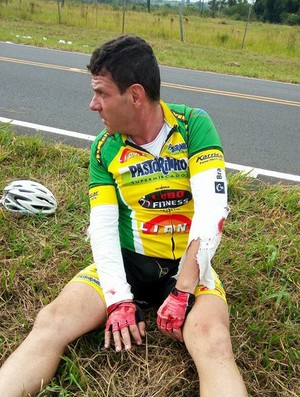 Maurício Lobo, ciclista, Presidente Prudente (Foto: Reprodução / Facebook)