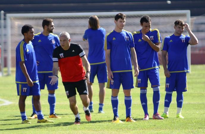 márcio fernandes, técnico do botafogo-sp (Foto: Luis Augusto/Ag. Botafogo)