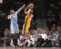 No reencontro com os fãs, Lakers, de Kobe, recebem time de Leandrinho