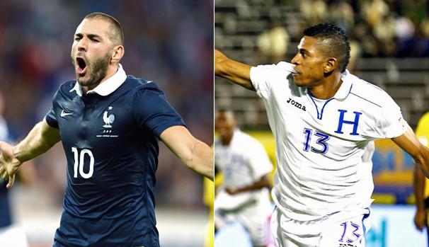 Globo transmite partida entre França x Honduras neste domingo, dia 15 (Foto: AFP / Reuters)
