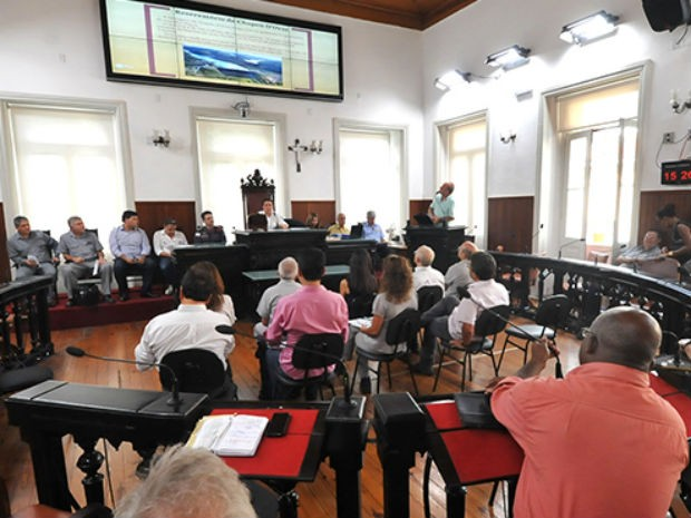 Audiência sobre barragens em Juiz de Fora (Foto: Câmara Municipal/Divulgação)