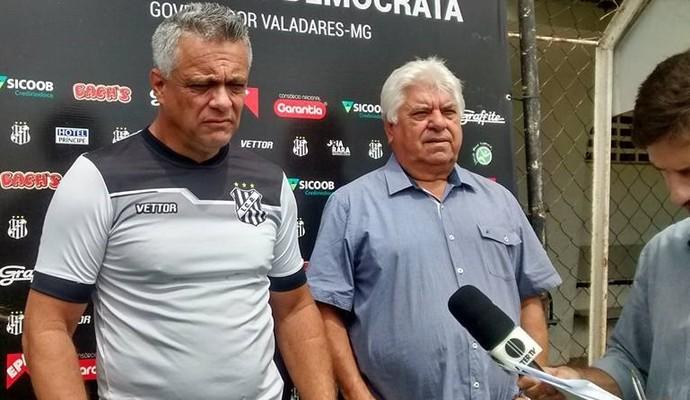 Técnico Márcio Pereira destaca trabalho realizado junto ao elenco (Foto: Democrata/Divulgação)