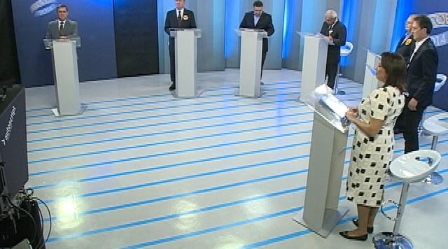 Debate entre os candidatos ao governo de Santa Catarina - Parte 1