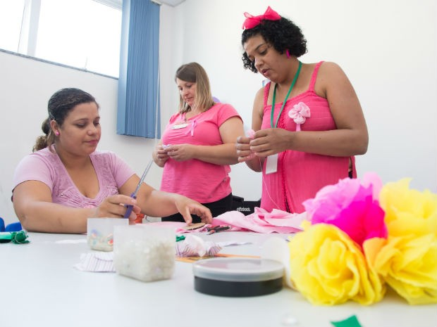 Outubro Rosa conscientiza sobre a importância da prevenção ao câncer de mama (Foto: Emerson Ferraz)