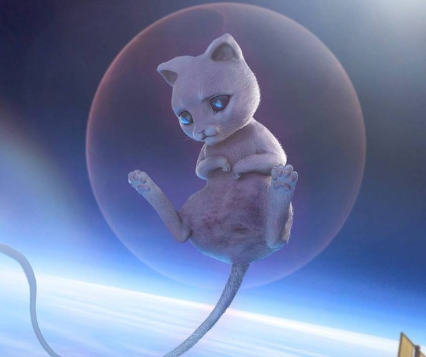 Mew (Foto: Reprodução/Joshua Dunlop)
