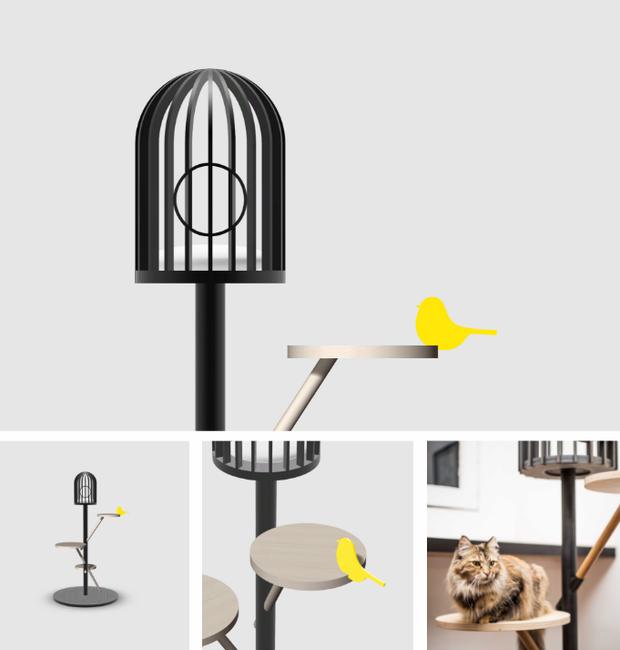 design-mobilia-para-gatos-rodney-loh (Foto: Divulgação)