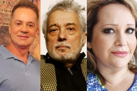Luis Fernando Guimarães, Pedro Paulo Rangel e Gottsha (Foto: Divulgação)