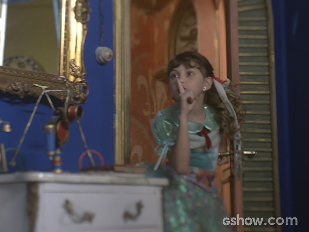 Geytsa Garcia interpreta a doce Pituca (Foto: Meu Pedacinho de Chão/TV Globo)