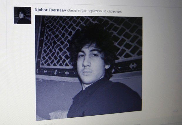 Dzhokhar A. Tsarnaev e seu irmão são suspeitos de atentados na Maratona de Boston (Foto: Alexander Demianchuk/Reuters)