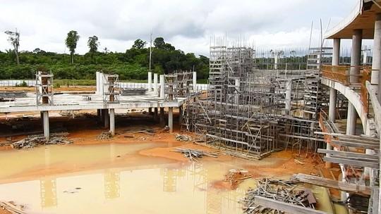 Obra da Cidade Universitária de R$ 700 milhões segue parada à espera da venda da Cigás, no AM