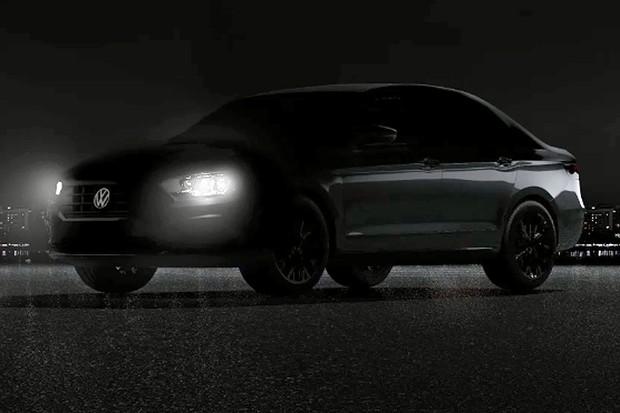 Nova geração do Volkswagen Jetta aparece em primeiro teaser (Foto: Reprodução)