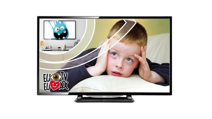 TV LED AOC LE32D1352 oferece qualidade de imagem em HD (Foto: Divulgação/AOC)